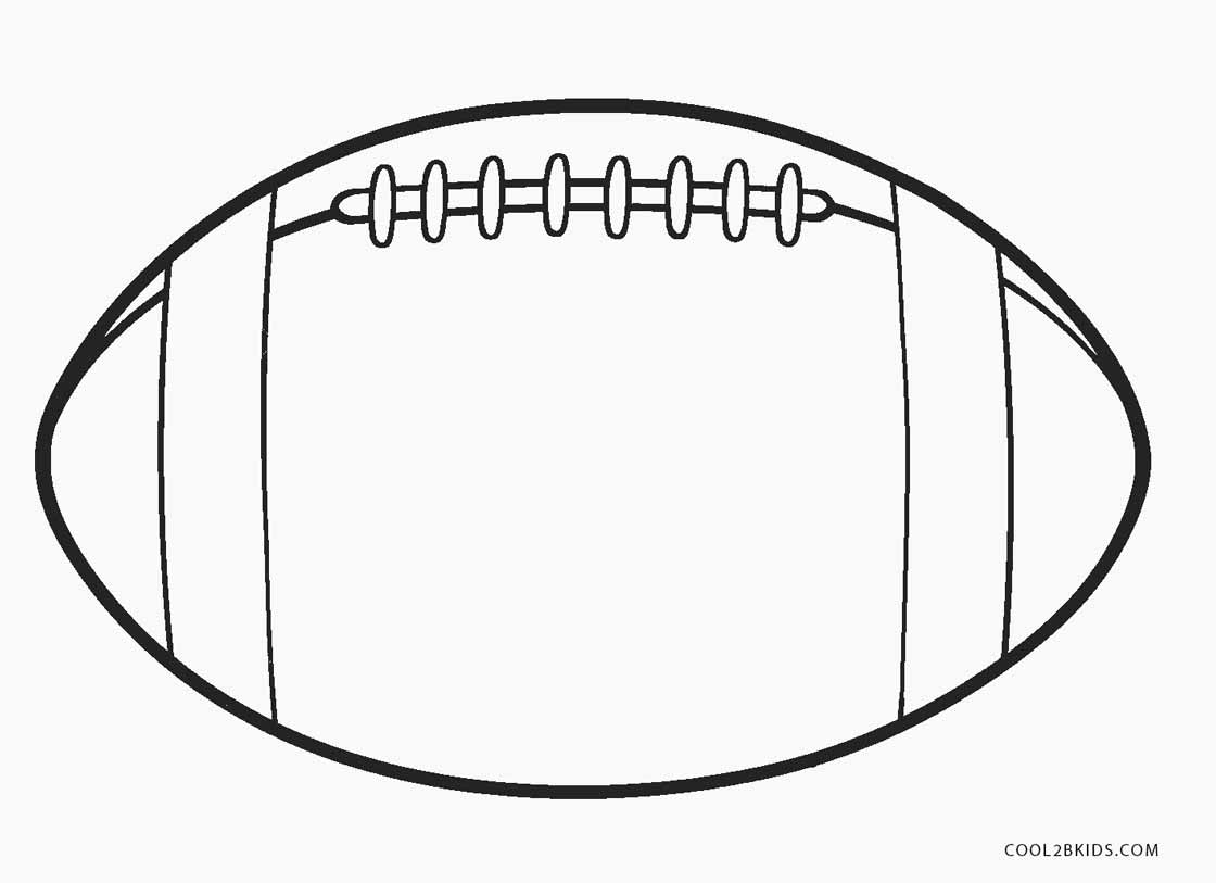 Football Jerseytrackback Coloring Pages