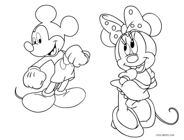 mickey coloring page # 76