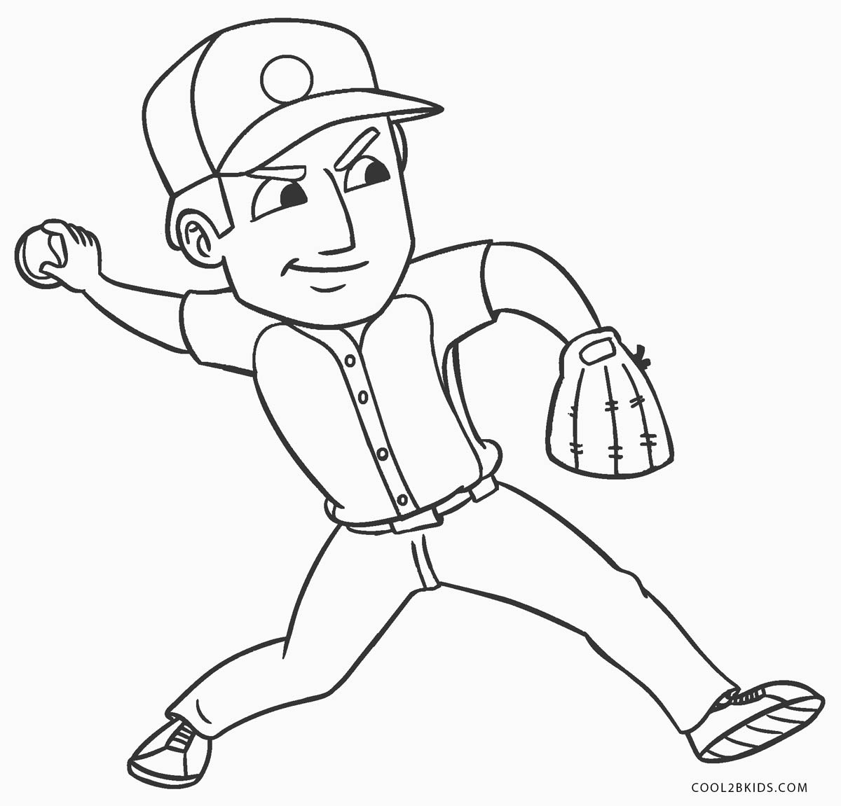 35 Baseball Player Coloring Pages