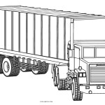 Free Printable Truck Coloring Pages For Kids