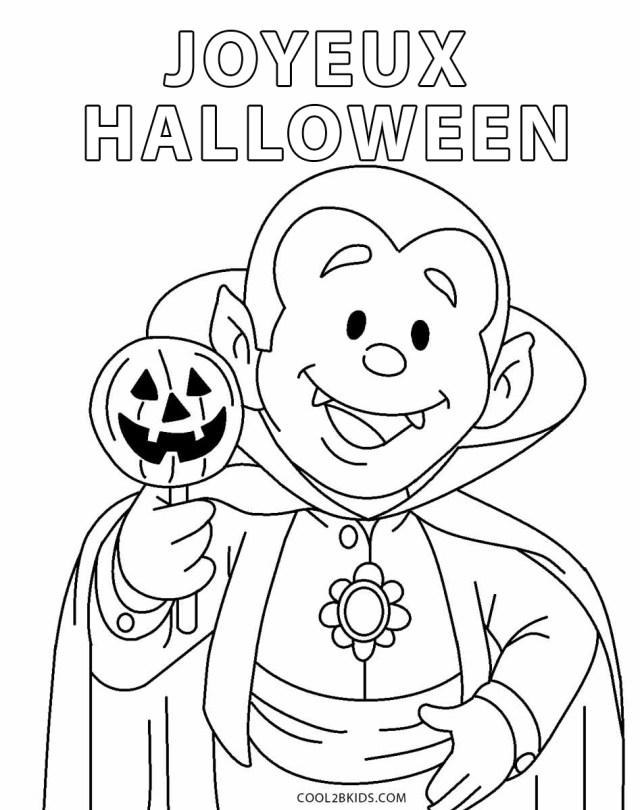 Coloriages - Halloween - Coloriages Gratuits à Imprimer