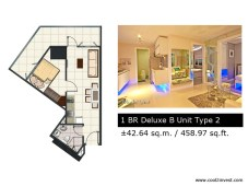 Breeze Residences - 1 Bedroom Deluxe B Type 2