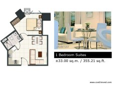 Breeze Residences - 1 Bedroom Suites