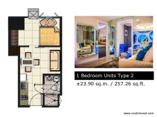 Breeze Residences - 1 Bedroom Unit Type 2
