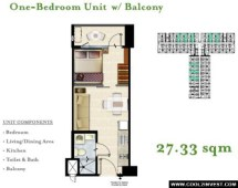 1 Bedroom with Balcony
