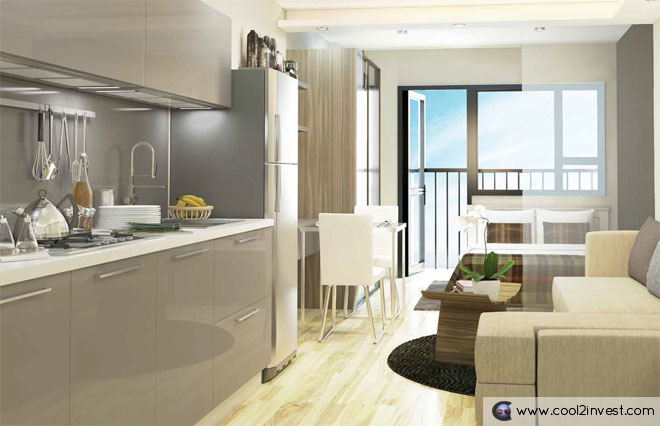 South Residences Model Unit