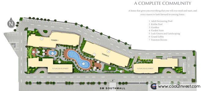 South Residences Site Development Plan