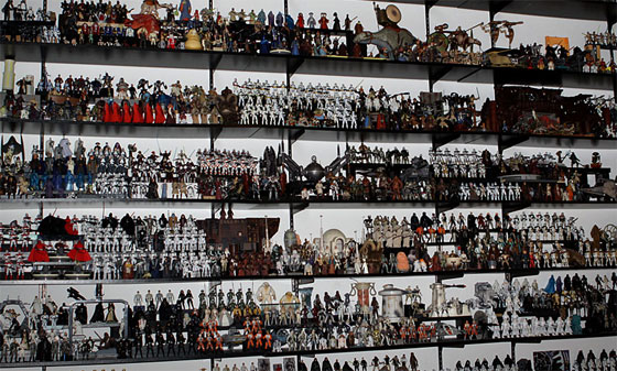 Massive Star Wars figure collection