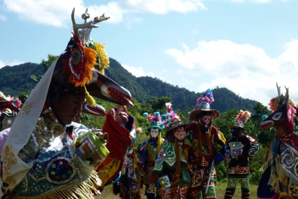 Deer dancers, the old man and the lady
