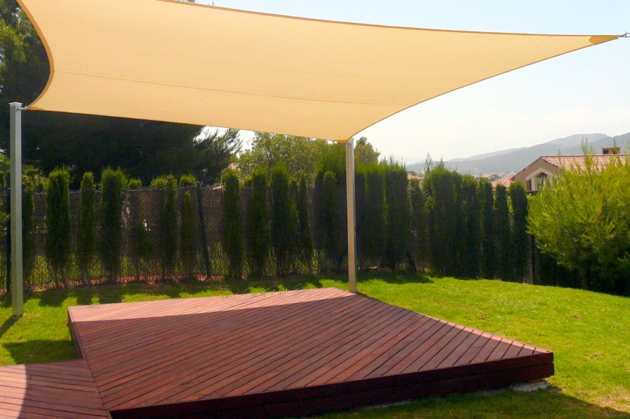 Garden Sun Sails     versatile patio sun shade sails with UV protection For your home i Shading Spain over decking n Spain Shade Sails