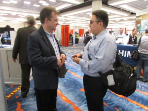Joel interviewing David Bradburn from Baum USA at CSUN 2016