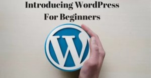 Introducing WordPress For Beginners