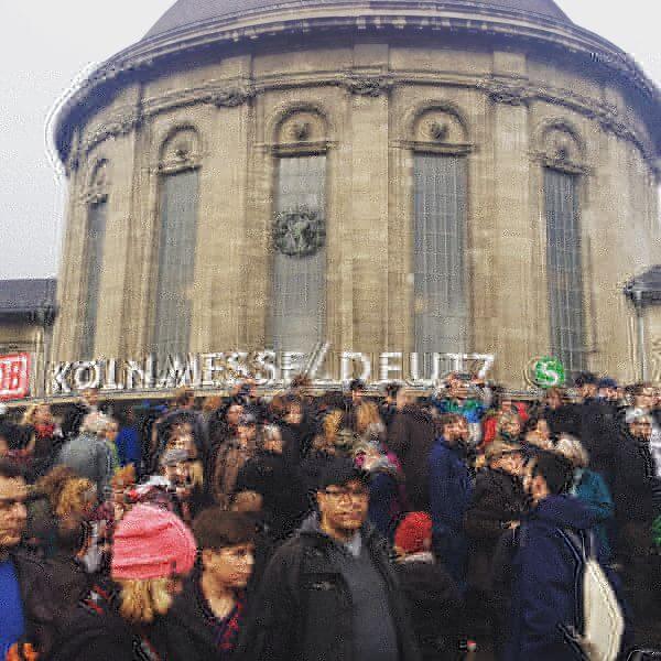 Nohogesa Demo Köln