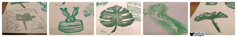 selbstgemachte Pflanzenstempel