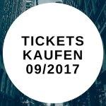 Tickets kaufen 09/2017