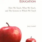 The Book Reimagining Education Captures my Imagination
