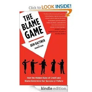 The Blame Game is an excellent book for educational leadership to understand how to create a culture that gives credit and doesn't blame in ways that harm improvement. How can you learn from mistakes? You can -- but not by blaming everyone in sight. This is a lesson education needs to learn now.
