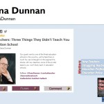 3 Things You Didn't Learn in Ed School with Dana Dunnan #ECM 53