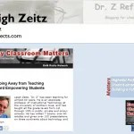 Dr. Z: Leigh Zeitz , a student-centered Education Technology Professor