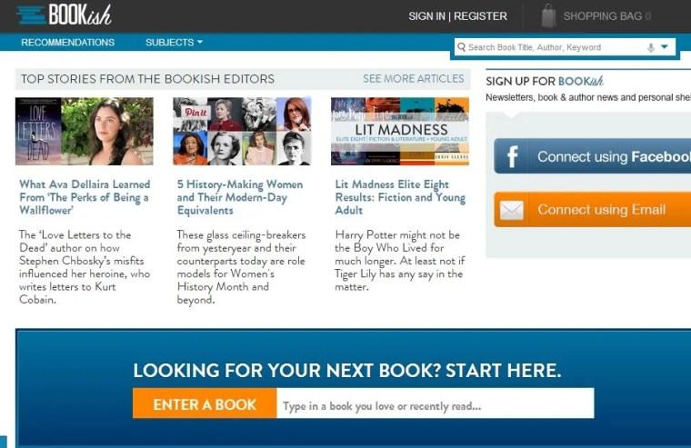 Bookish ebook guide