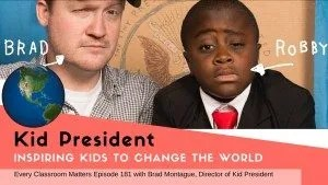 Kid President helping kids change the world