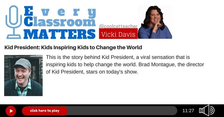 Kid President helps kids change the world
