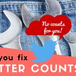Can You Fix Twitter Counts? (and Why They Are Broken)