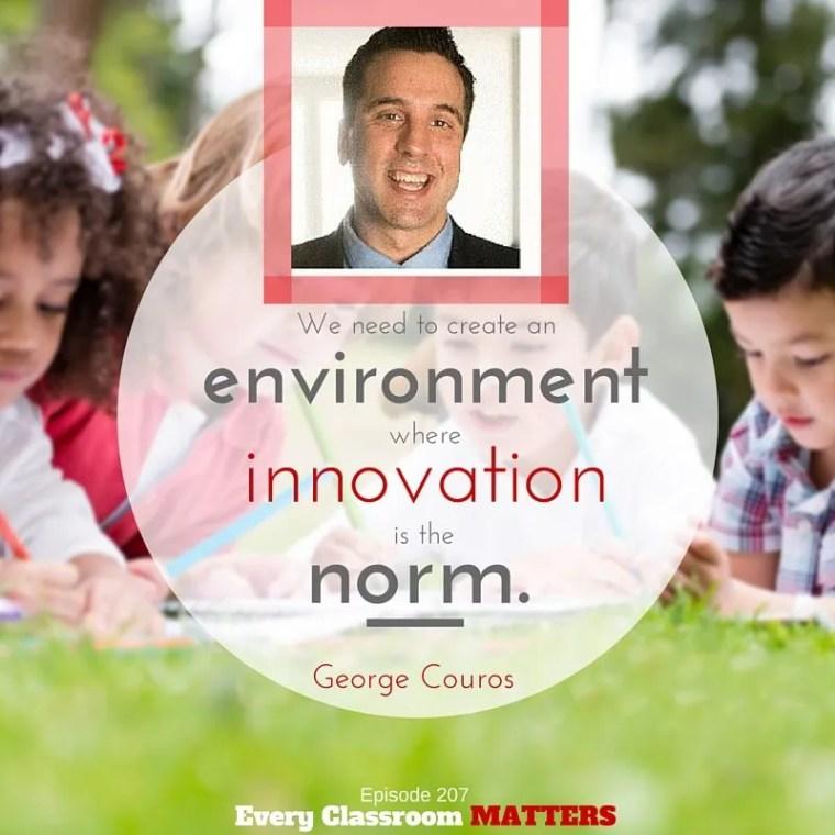 George Couros Empathy Innovator's mindset