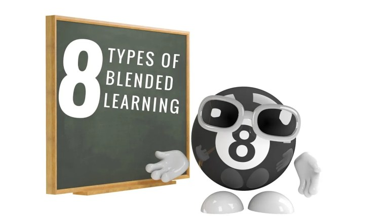 8 types of blended learning according to research