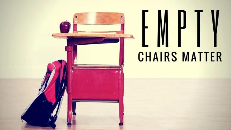empty chairs matter