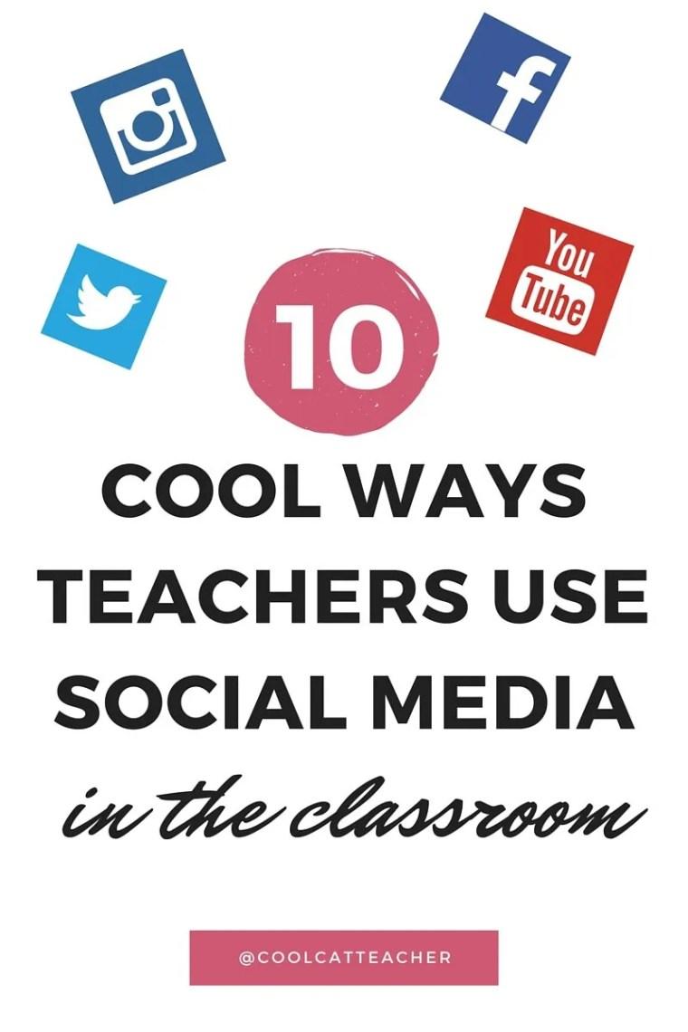 Ways teachers use social media