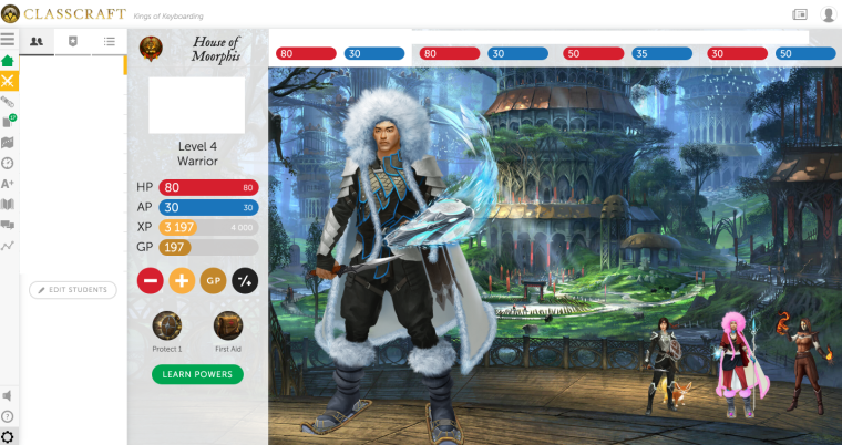 classcraft for game based learning