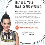 Support teachers with @Staples and Donorschoose.org