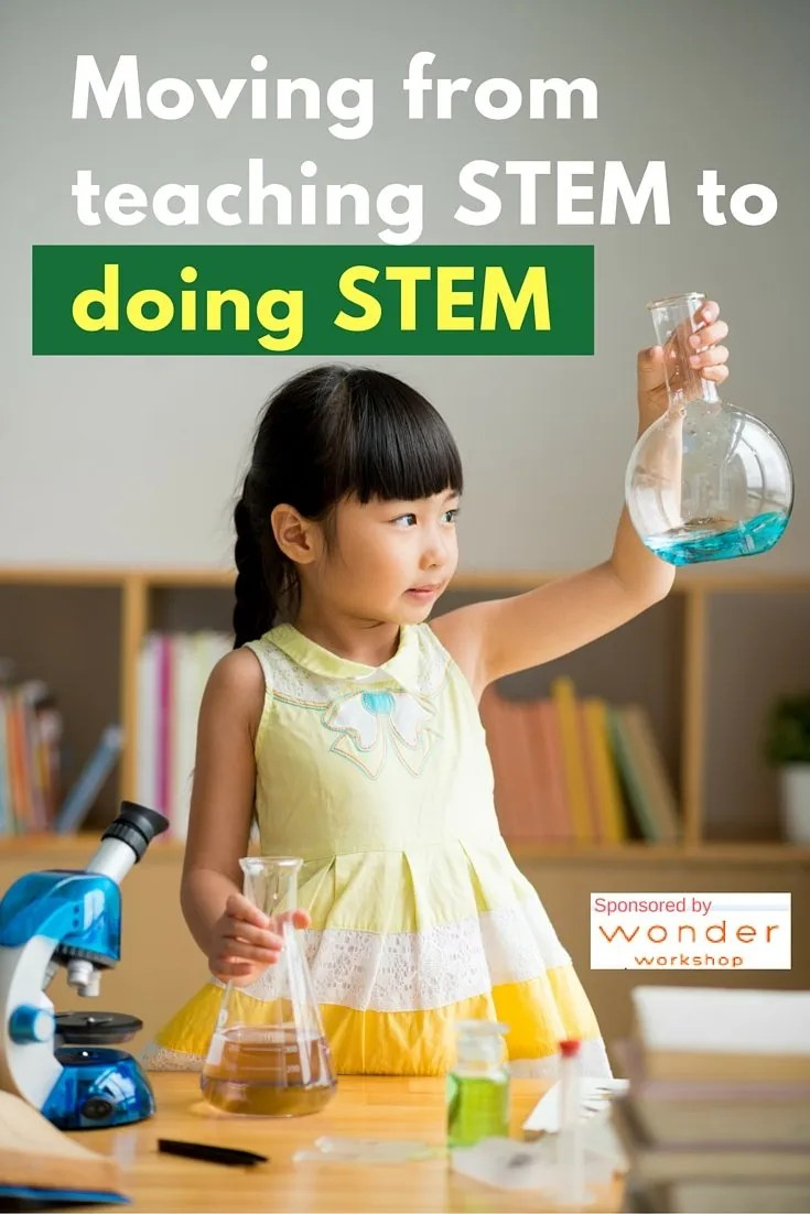 Moving from teaching STEM to doing STEM