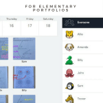 Creating Elementary Portfolios with SeeSaw