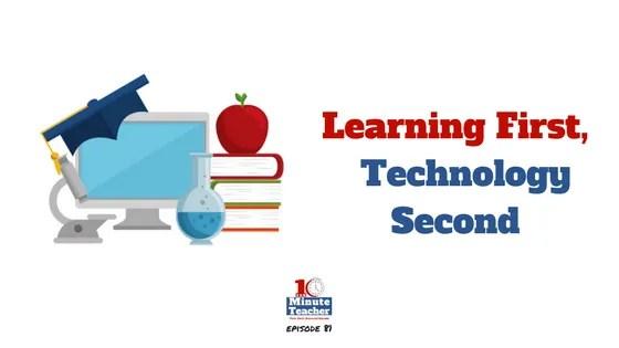 learning first, technology second liz kolb
