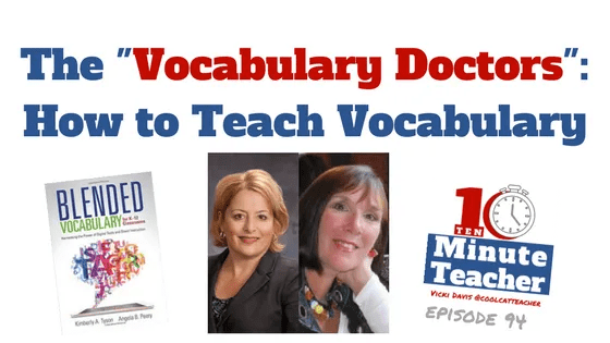 The -Vocabulary Doctors-- How to Teach Vocabulary