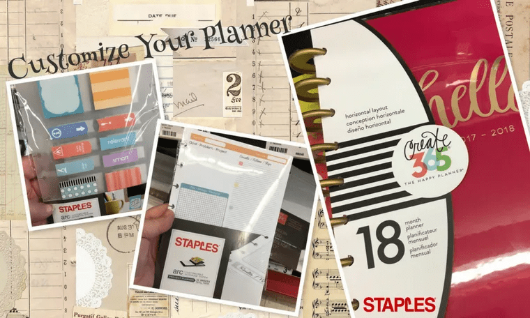 Customize your planning system using Post-it® Brand and Arc by Staples