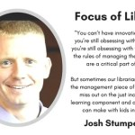 Josh Stumpenhorst's Learning Commons: Drones, Literature, and Creativity