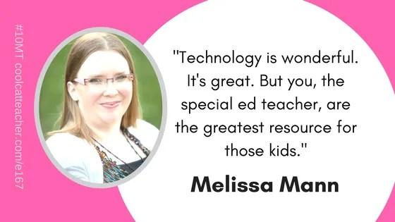 Melissa Mann Special ed teachers