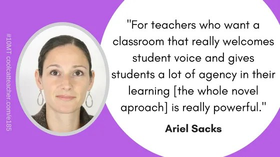 5 reasons to try a whole novel approach in your classroom ariel sacks author of whole novels for the whole class shares five reasons to try a whole novel approach she also explains how this approach works and ccuart Choice Image
