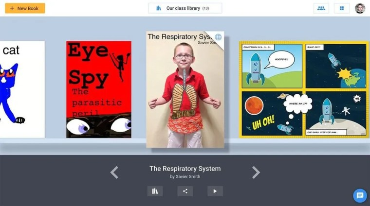 Book Creator classroom library