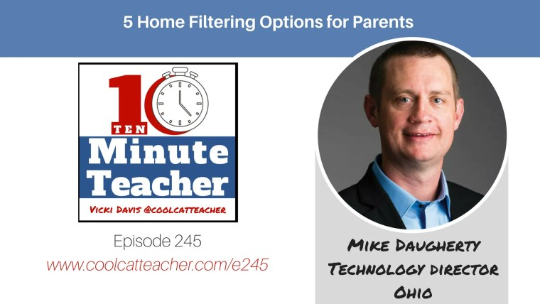 mike daugherty internet filter options