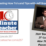 Podcasting How To's and Tips with Jeff Bradbury and Vicki Davis