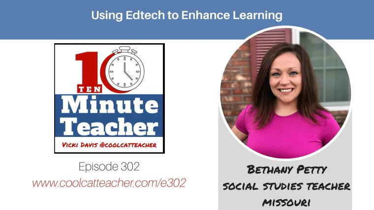 bethany petty using technology to enhance learning
