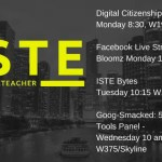ISTE 2018: Where I'll Be Presenting and Joining in the Learning #iste18