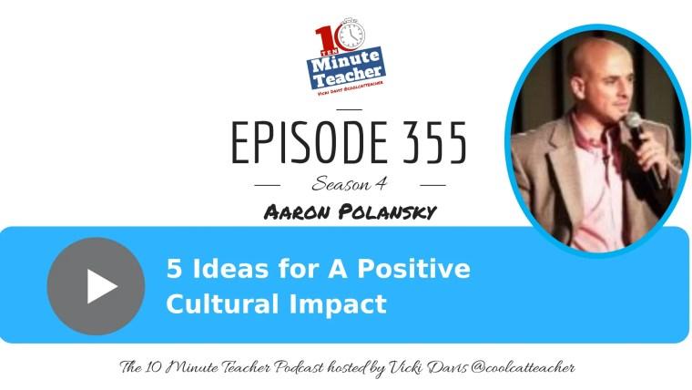Aaron Polansky positive cultural impact