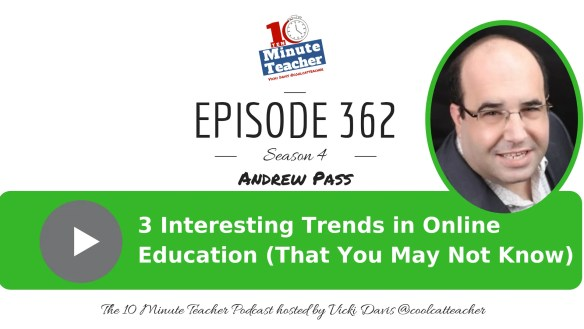 [NEW #10MT EPISODE] Interesting Trends in Online Educational Content (that you might not know about) with Andrew Pass Education