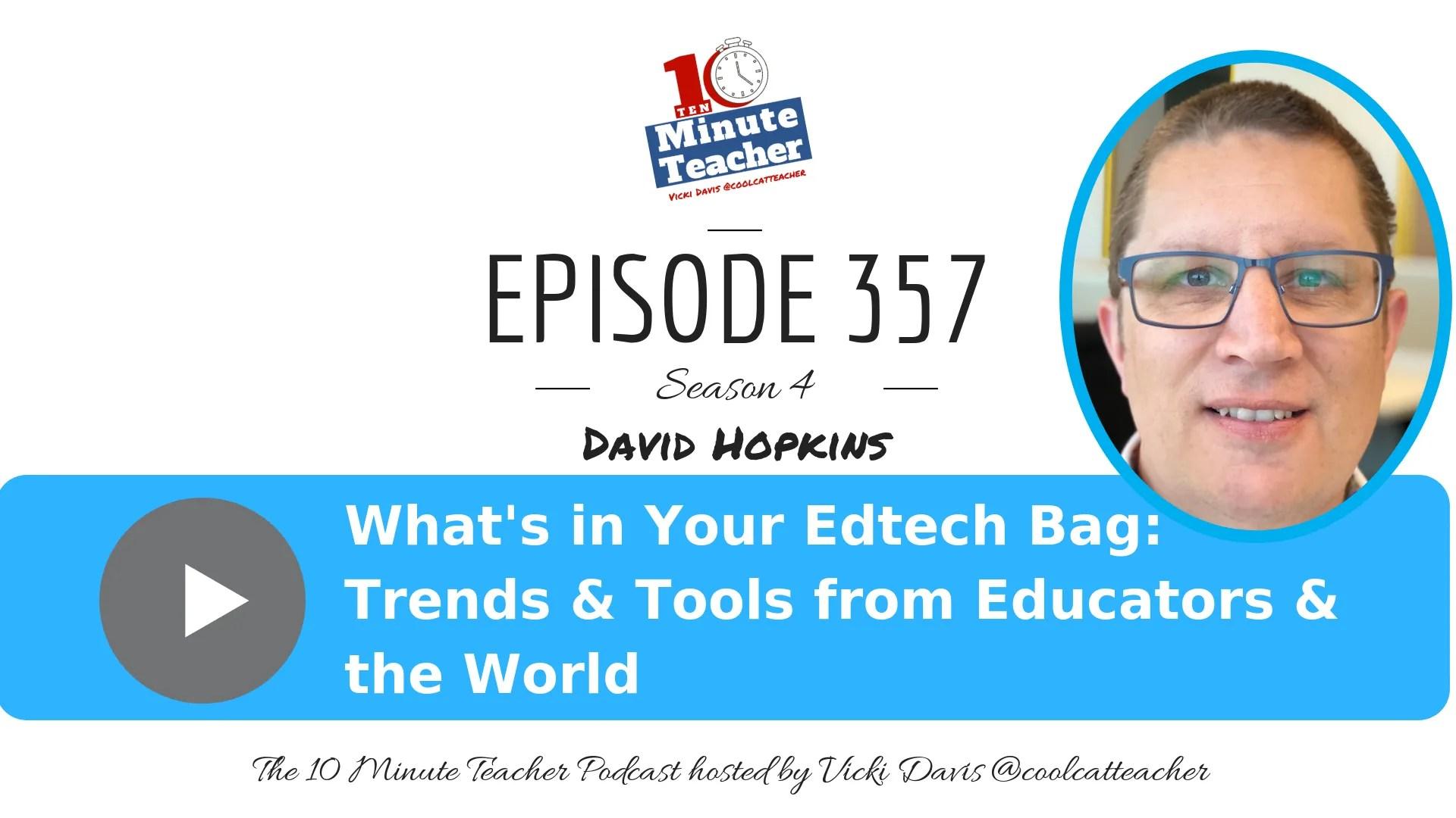 David Hopkins Trends and Tools