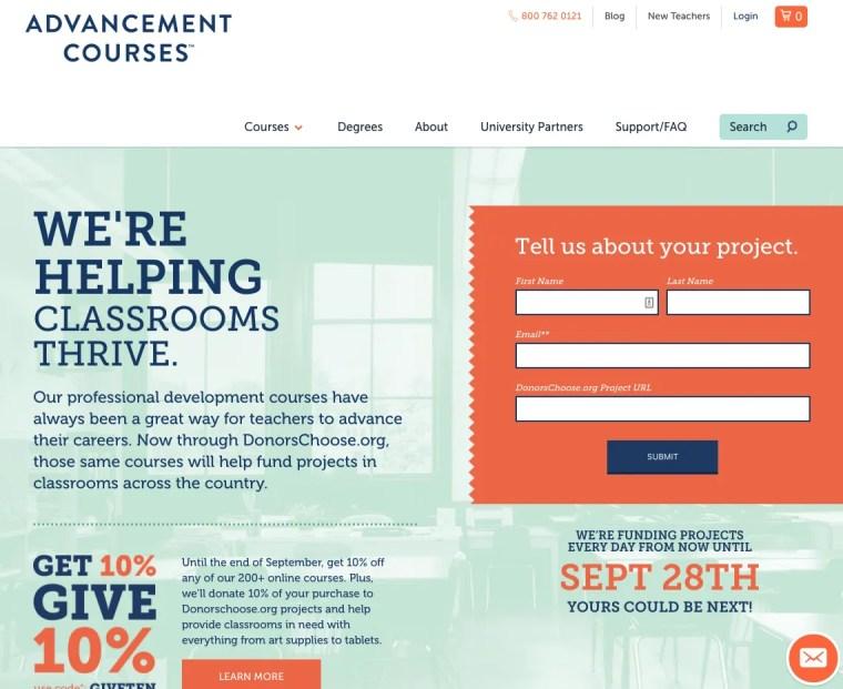 advancement-courses-donorschoose